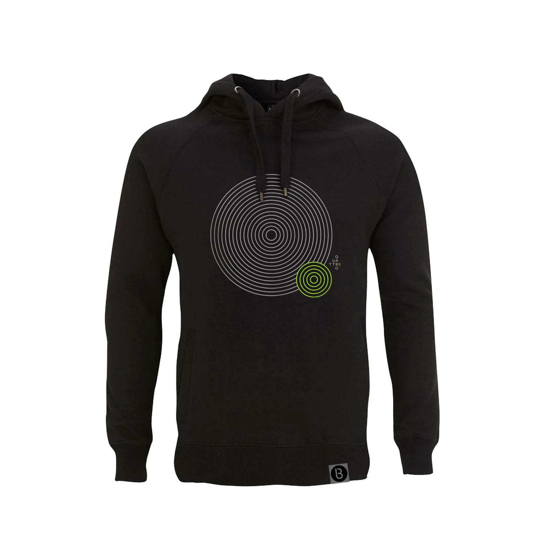 Buy Online Bedrock Music - Quattro II Black Hoodie