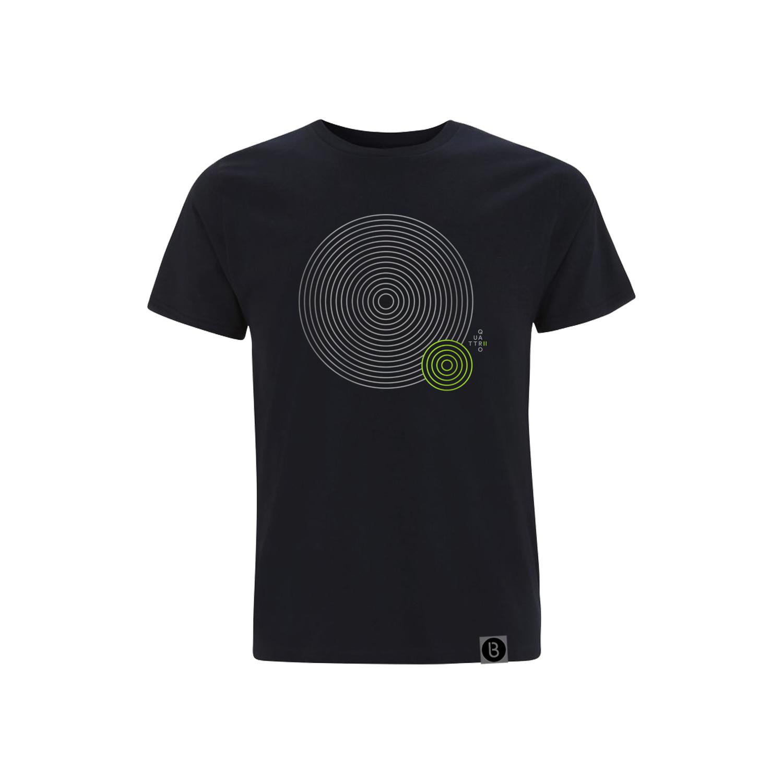 Buy Online Bedrock Music - Quattro II Mens Navy Blue T-Shirt