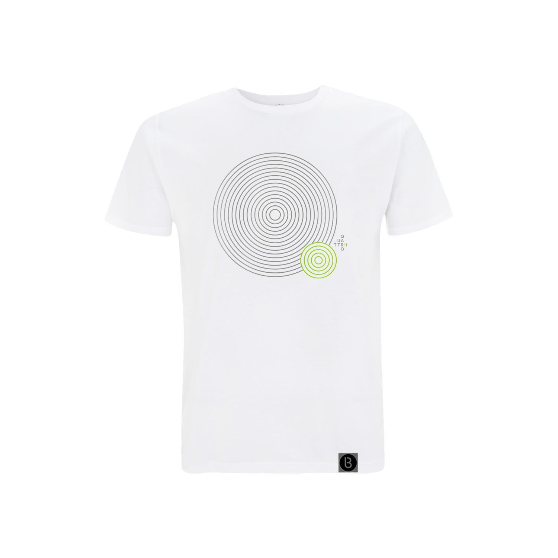 Buy Online Bedrock Music - Quattro II Mens White T-Shirt