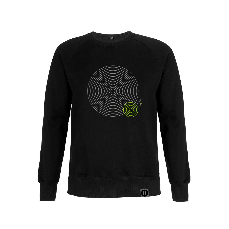 Buy Online Bedrock Music - Quattro II Black Sweatshirt