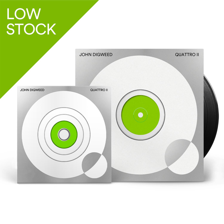 Buy Online Bedrock Music - Quattro II 4CD + 5 X Vinyl (Signed, Numbered)