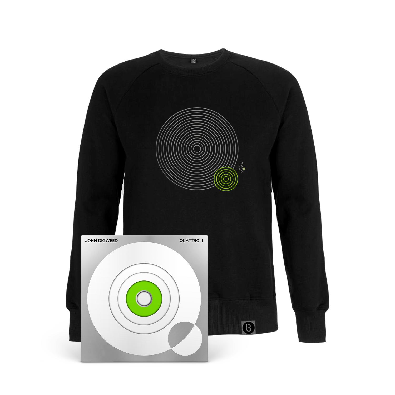 Buy Online Bedrock Music - Quattro II 4CD (Signed, Numbered) + Black Sweatshirt