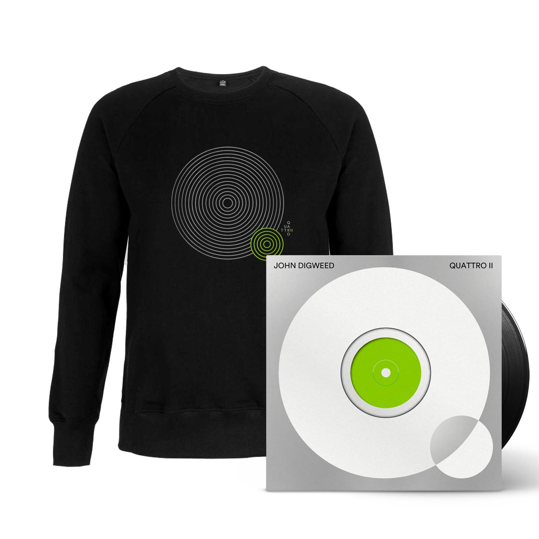 Buy Online Bedrock Music - Quattro II 5 x Vinyl (Signed, Numbered) + Black Sweatshirt