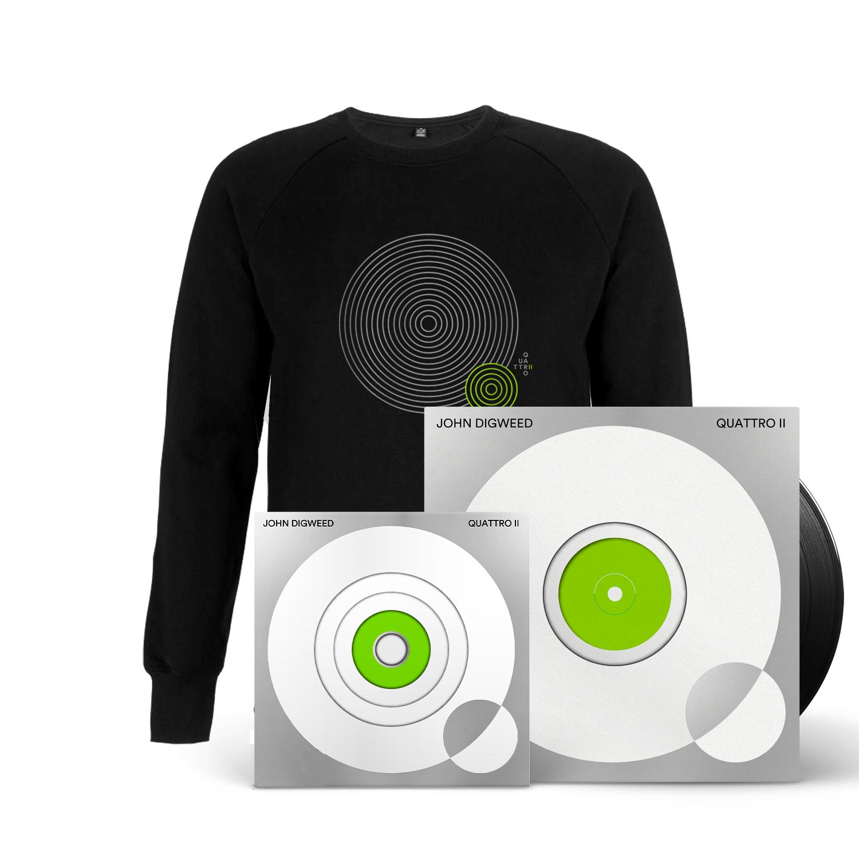 Buy Online Bedrock Music - Quattro II 4CD + 5 X Vinyl (Signed, Numbered) + Black Sweatshirt