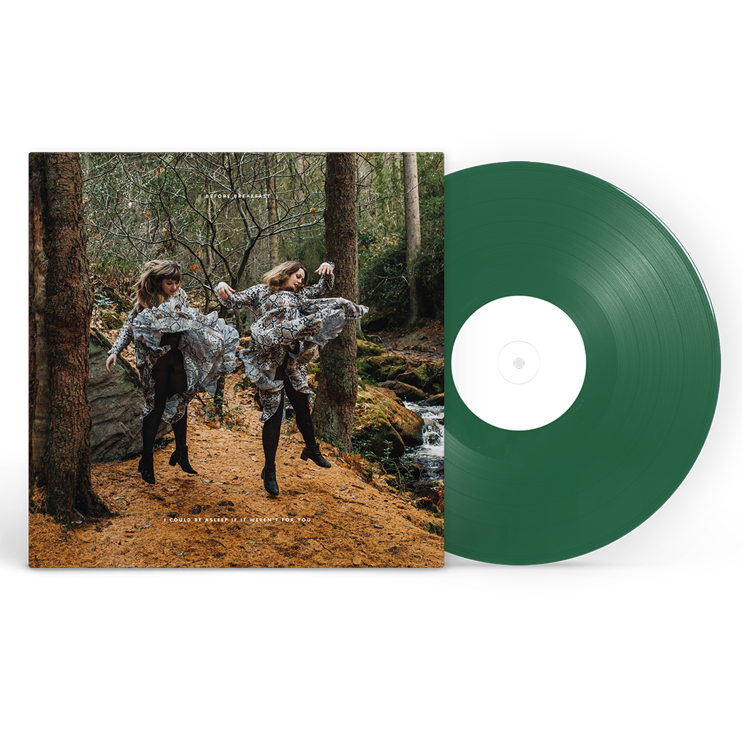 I Could Be Asleep If It Weren't For You Forest Green LP (Signed)