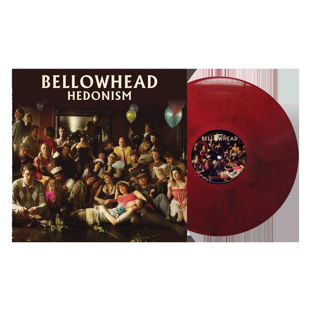 Buy Online Bellowhead - Hedonism 10th Anniversary Ltd Edition Red/Black Marble Vinyl