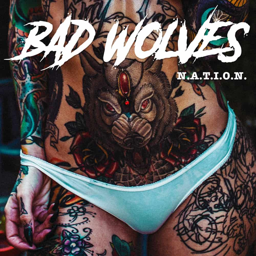 Buy Online Bad Wolves - N.A.T.I.O.N Double Coloured