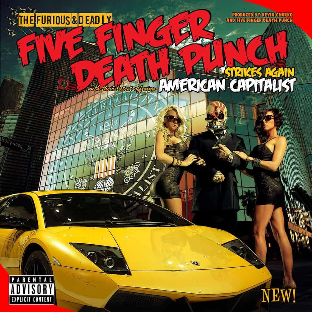 Buy Online Five Finger Death Punch - American Capitalist