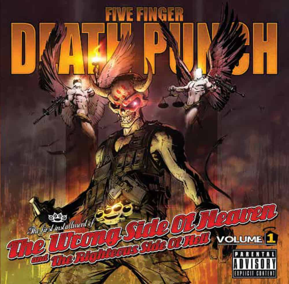Buy Online Five Finger Death Punch - The Wrong Side of Heaven and the Righteous Side of Hell, Vol. 1
