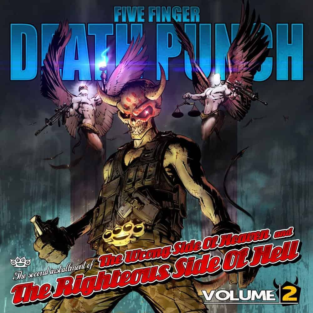 Buy Online Five Finger Death Punch - The Wrong Side of Heaven and the Righteous Side of Hell, Vol. 2