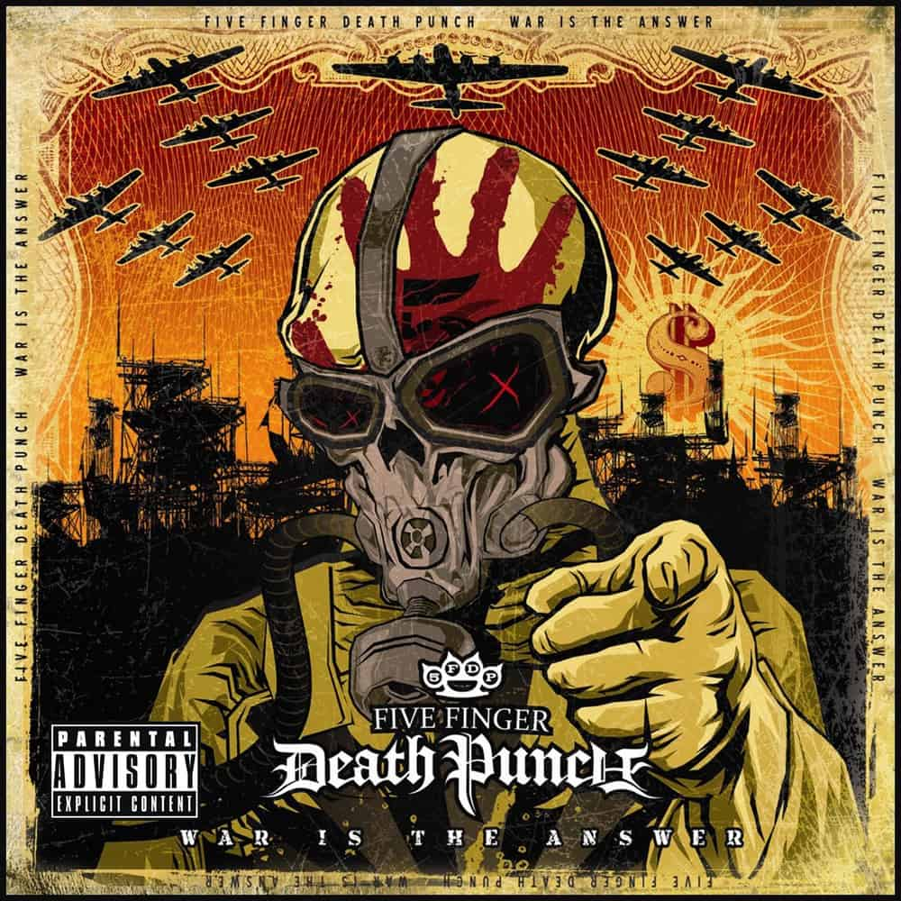 Buy Online Five Finger Death Punch - War Is the Answer
