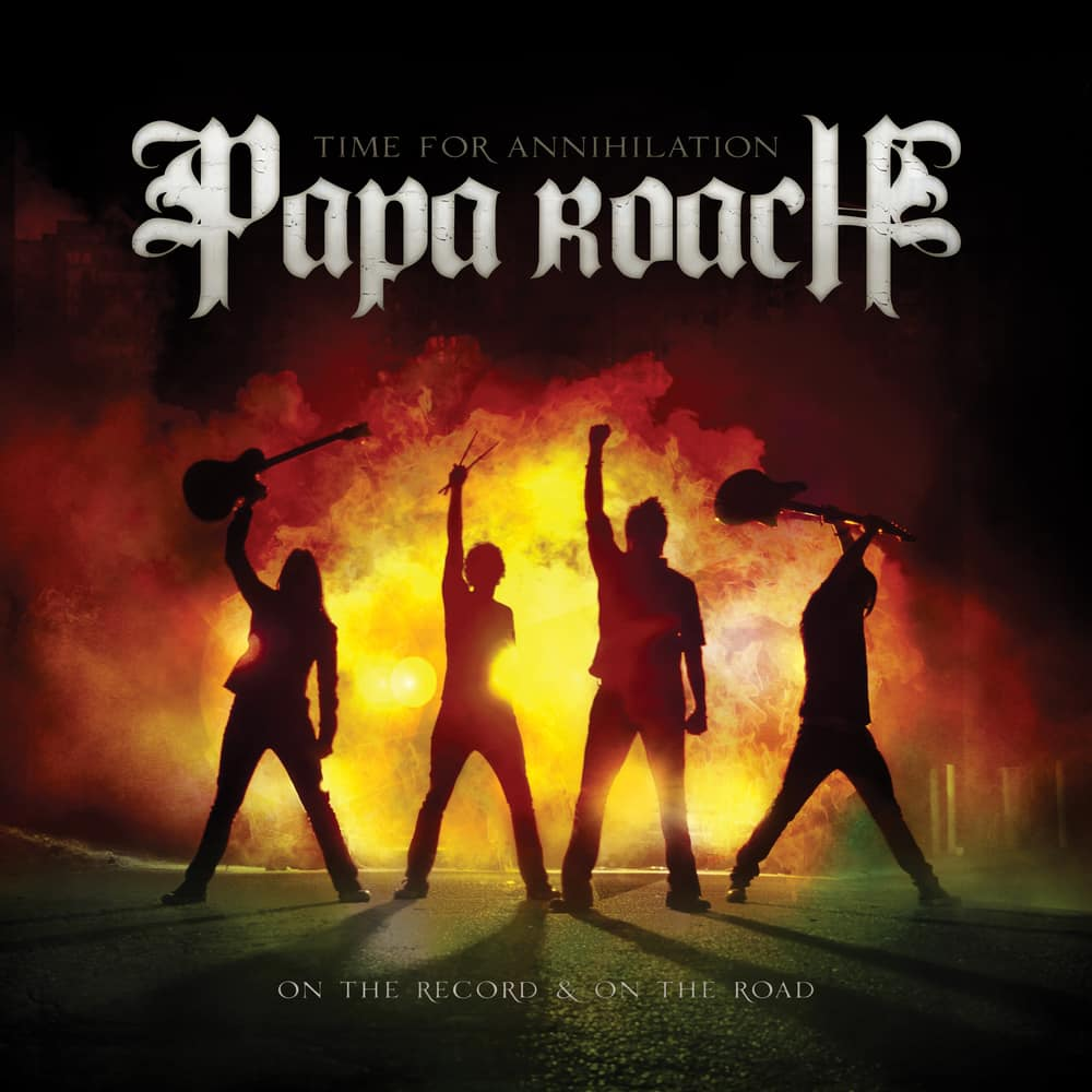 Buy Online Papa Roach - Time for Annihilation: on the Record & on the Road