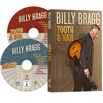 Buy Online Billy Bragg - Tooth & Nail (+DVD) ***Exclusive SIGNED Print***