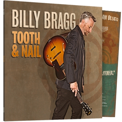 Buy Online Billy Bragg - Tooth & Nail (180g Heavyweight LP) ***Exclusive SIGNED Print***