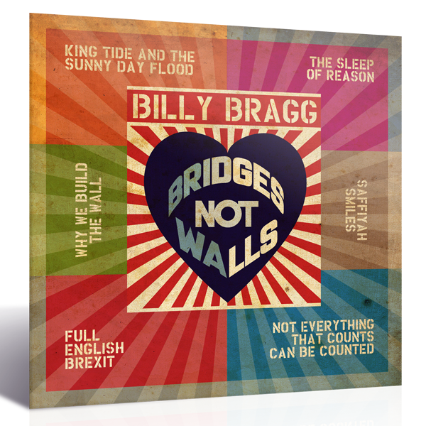Bridges Not Walls CD plus 6 Postcard Set