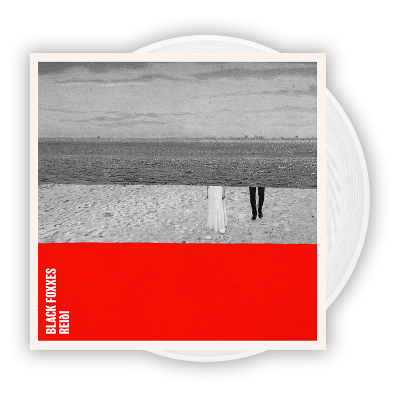 Buy Online Black Foxxes - reiði White Vinyl LP (Signed)