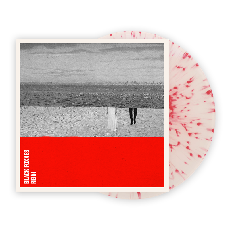 Buy Online Black Foxxes - Reidl Red Splatter On Clear (Signed)