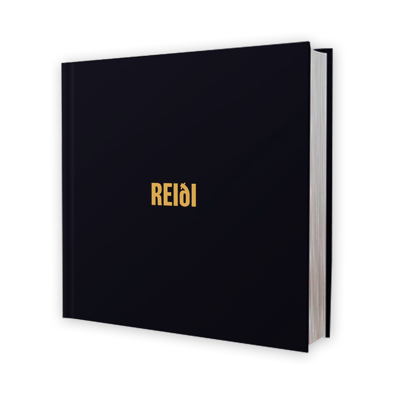 Buy Online Black Foxxes - Reiði Deluxe Lyric / Photo Book