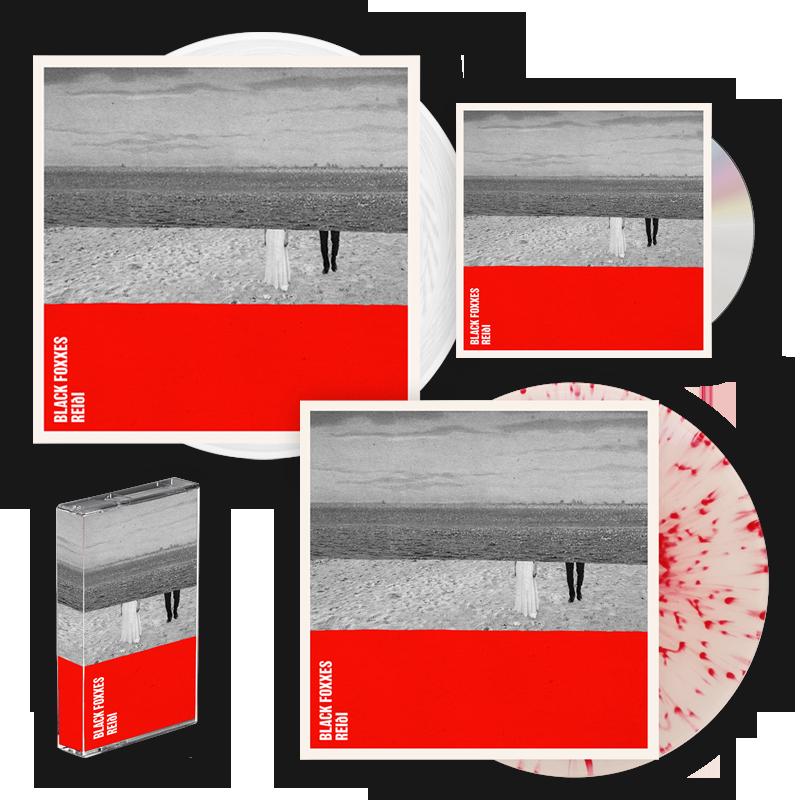 Buy Online Black Foxxes - reiði CD Album + White Vinyl LP + Red Splatter On Clear Vinyl LP + Cassette