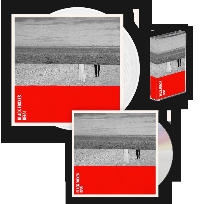 Buy Online Black Foxxes - reiði CD Album (Signed) + White Vinyl LP (Signed) + Cassette
