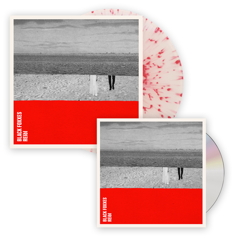 Buy Online Black Foxxes - reiði CD Album + Red Splatter On Clear Vinyl LP