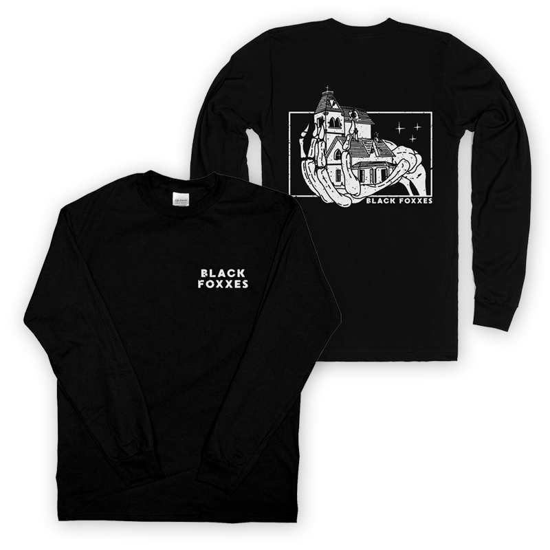 Buy Online Black Foxxes - Long Sleeve T-Shirt