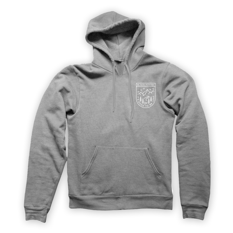 Buy Online Black Foxxes - Grey Hoody (Collaboration With Liam Ashurst)