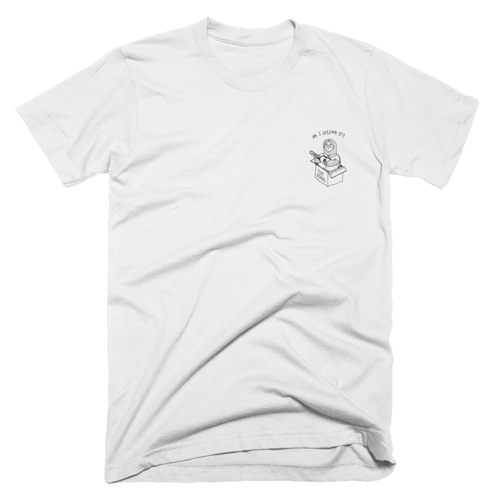 Buy Online Black Foxxes - Am I Losing It White Tee