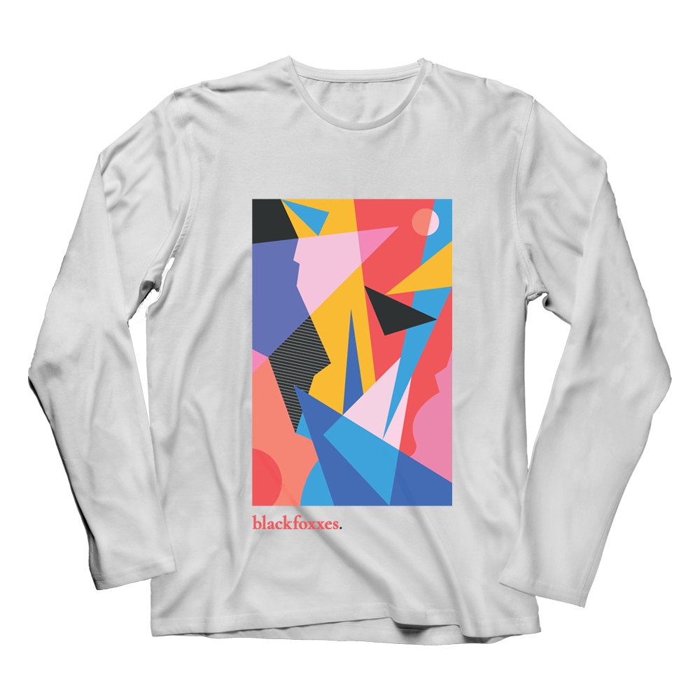 Buy Online Black Foxxes - 'Keeks' White Long Sleeve