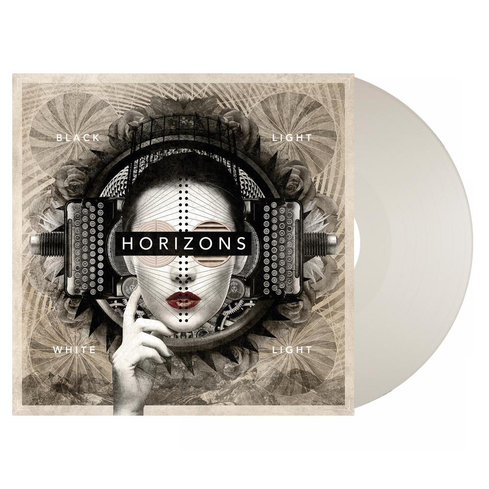 Buy Online Black Light White Light -  HORIZONS: White Vinyl LP Album