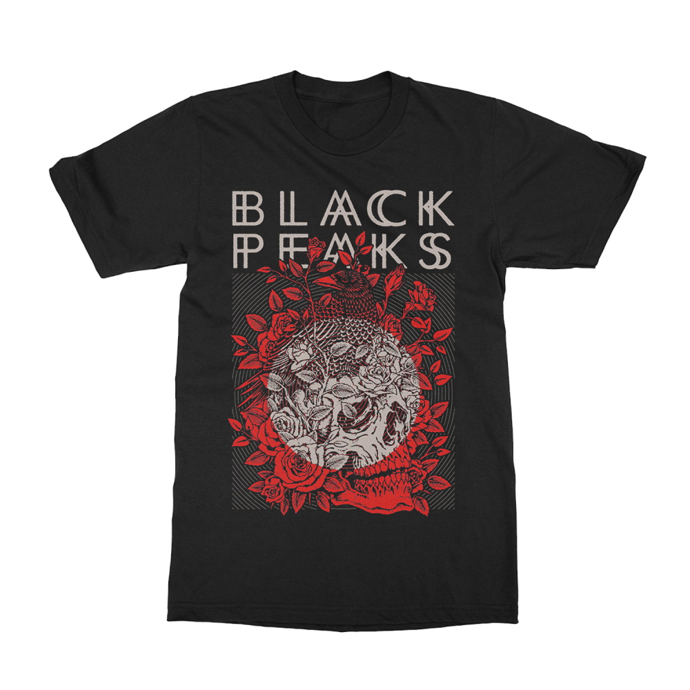 Buy Online Black Peaks - All That Divides T-Shirt