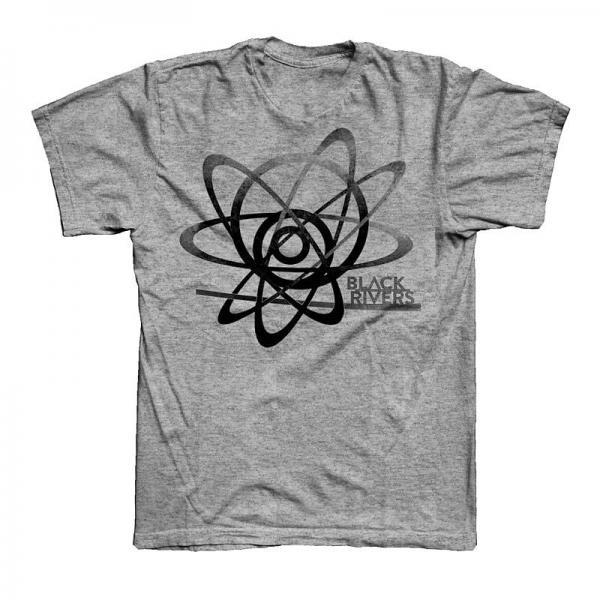 Buy Online Black Rivers - Grey Black Rivers T-Shirt