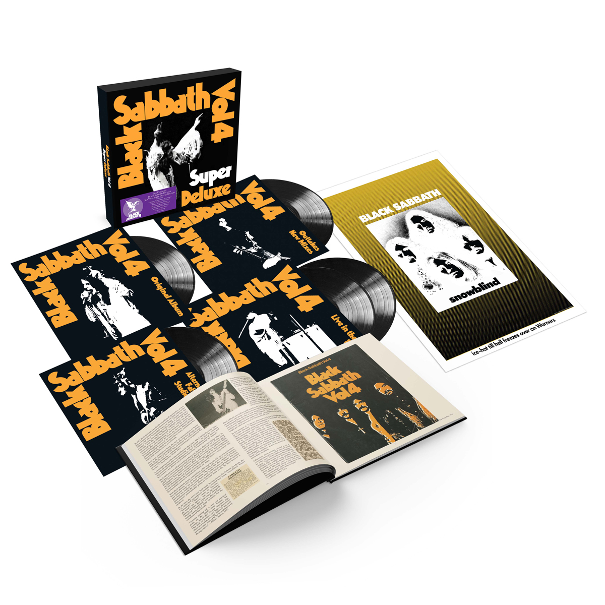 Buy Online Black Sabbath - Vol. 4 Super Deluxe 5LP