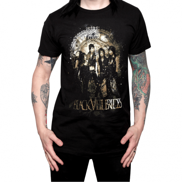 Buy Online Black Veil Brides - Sand Sarcophagus Slim T-Shirt Black