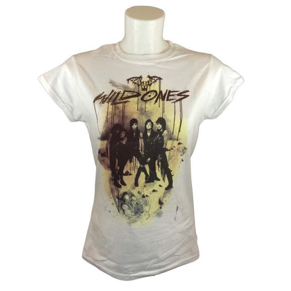 Buy Online Black Veil Brides - Wild Ones Ladies White T-Shirt