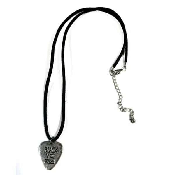 Buy Online Black Veil Brides - Silver Coloured Heart Necklace