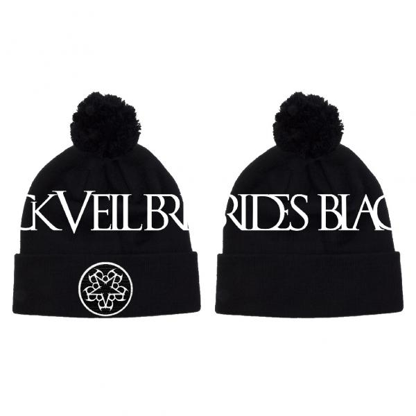 Buy Online Black Veil Brides - 2015 Pentagram Woven Bobble Hat