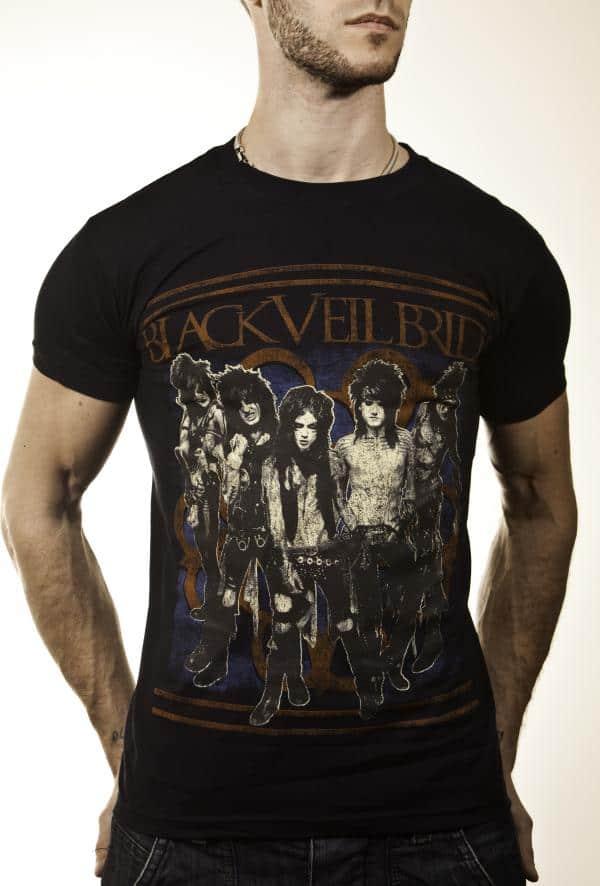 Buy Online Black Veil Brides - 2012 Tour T-shirt Black