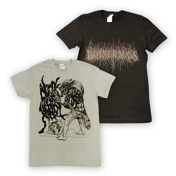 Buy Online Blanck Mass - Two T-Shirt Bundle