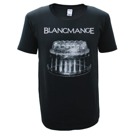Buy Online Blancmange - Mens Black Blanc Glass T-Shirt