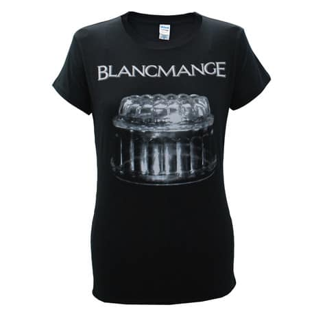 Buy Online Blancmange - Ladies Black Blank Glass T-Shirt