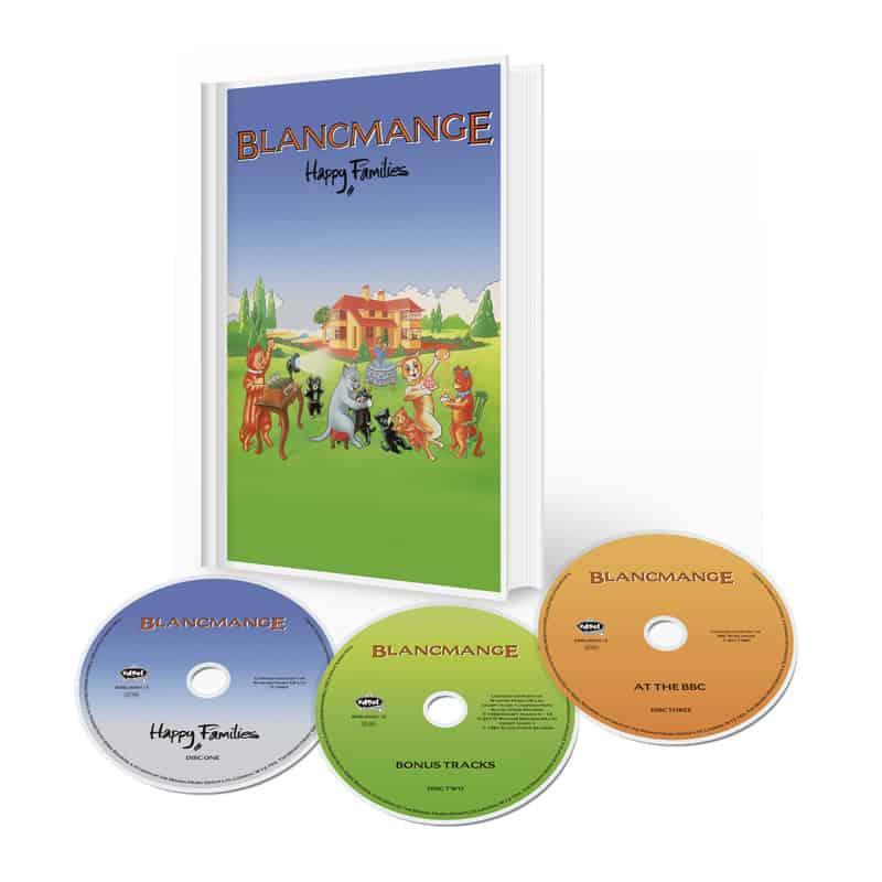 Buy Online Blancmange - Happy Families Deluxe 3CD Media Book Edition
