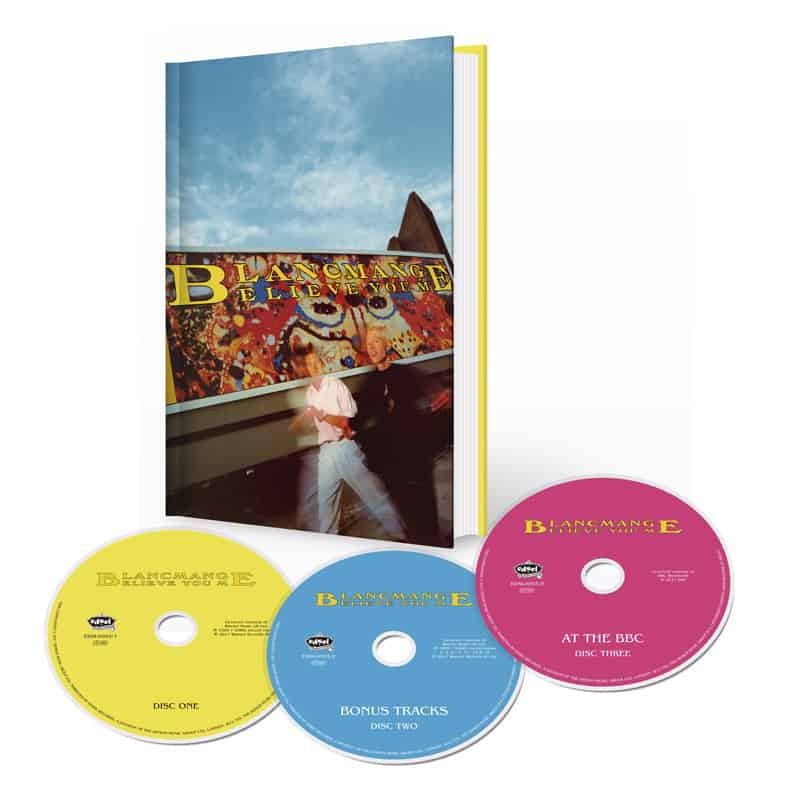 Buy Online Blancmange - Believe You Me Deluxe 3CD Media Book Edition