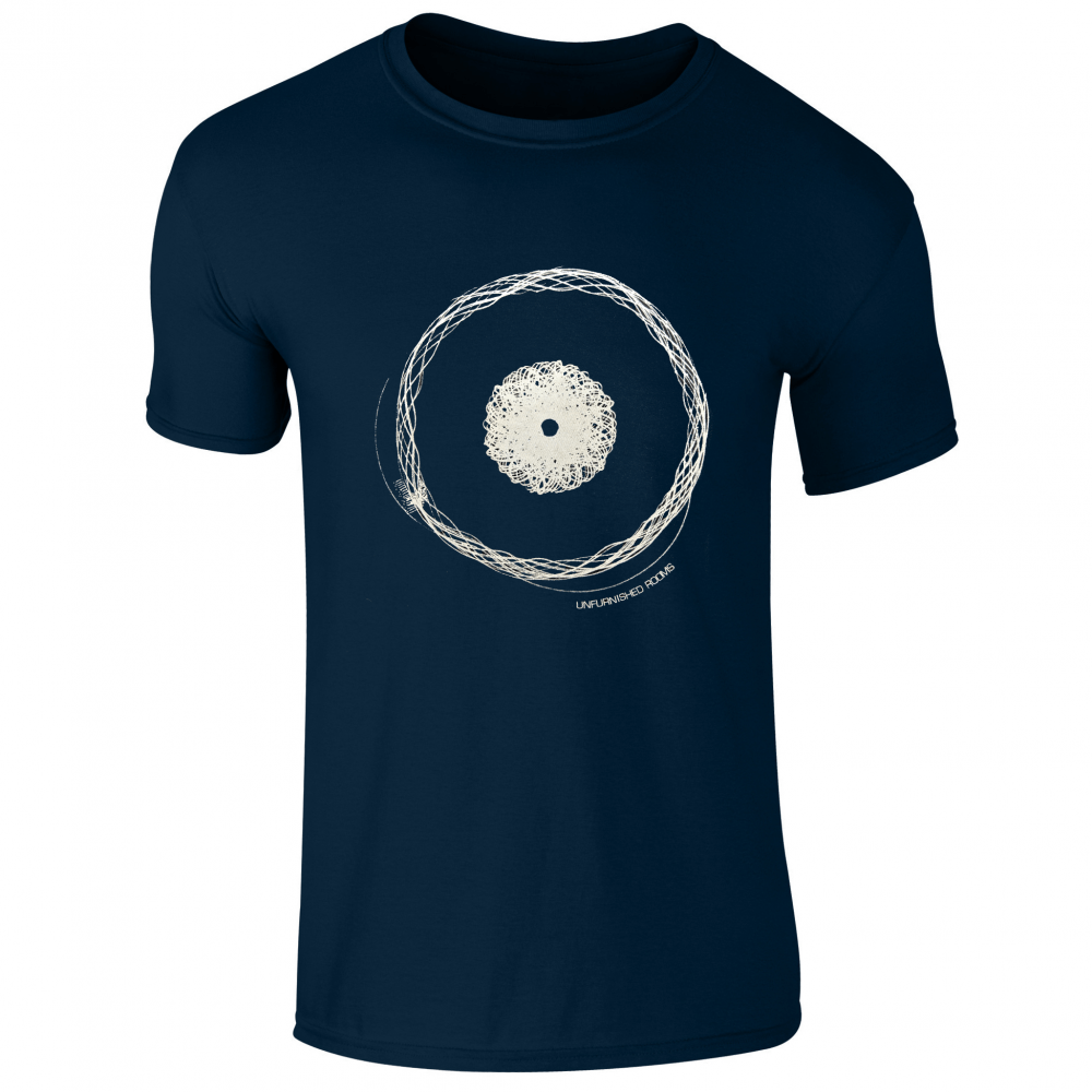 Buy Online Blancmange - Navy Blue Unfurnished Rooms T-Shirt