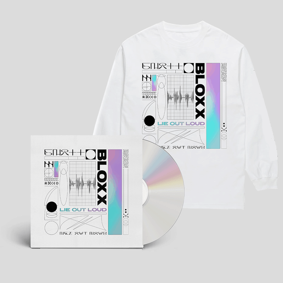 Buy Online Bloxx - Lie Out Loud CD (Signed) + Long Sleeve T-Shirt