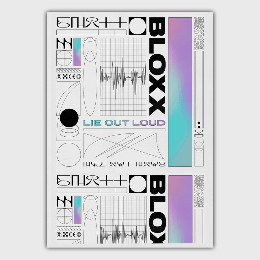 Buy Online Bloxx - Lie Out Loud A3 Artprint (Signed)