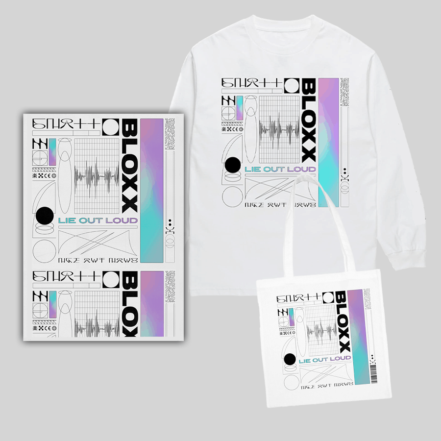 Lie Out Loud Long Sleeve T-Shirt + Tote Bag + A3 Artwork Print (Signed)