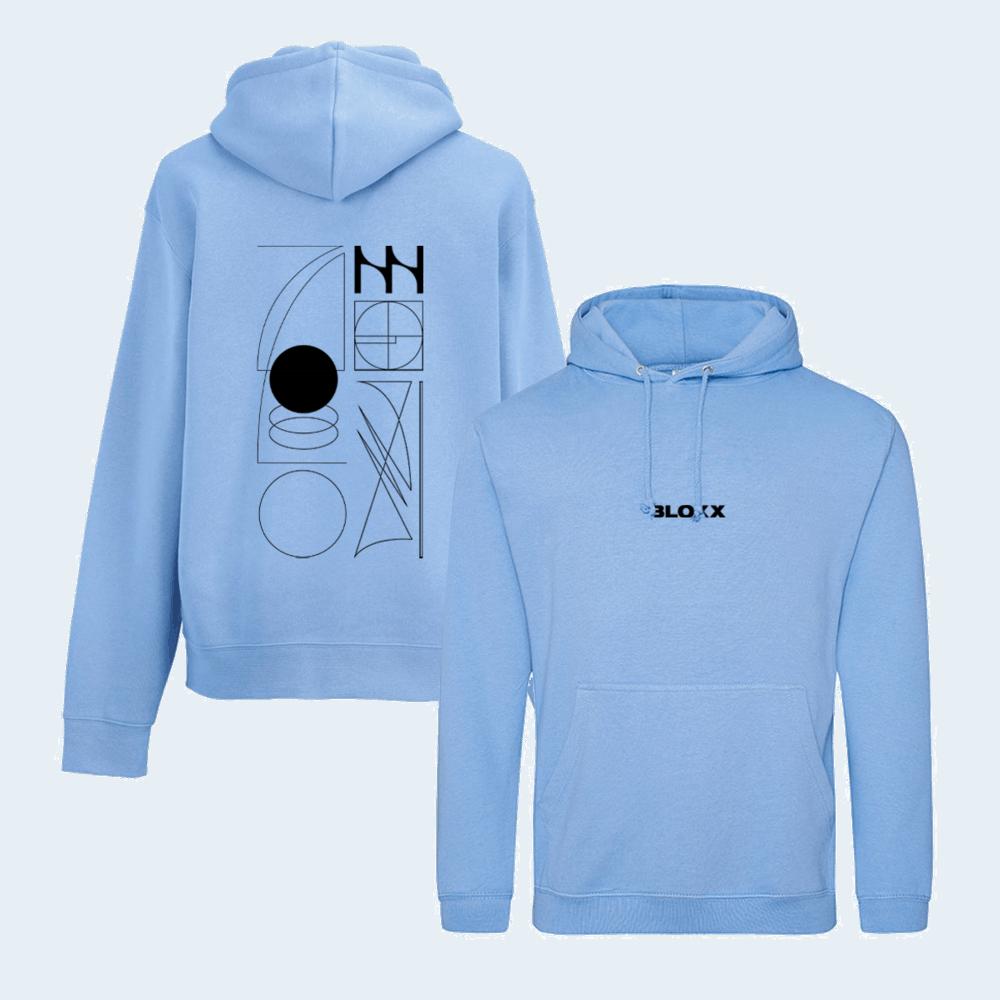 Buy Online Bloxx - Lie Out Loud Blue Hoodie