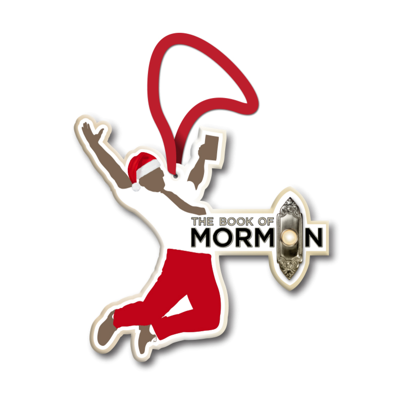 Buy Online Book Of Mormon - Jumping Mormon Ornament