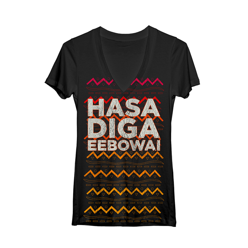 Buy Online Book Of Mormon - Women's Hasa V Neck Tee